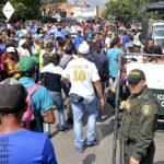 Paso de venezolanos a Colombia se normaliza tras controles migratorios