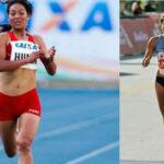 Maratonistas mexicana y peruana cartas latinas en los 21km de Guadalajara