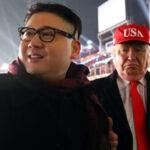 Seúl: Dobles de Donald Trump y Kim Jong-un ovacionados en los JJOO de Invierno