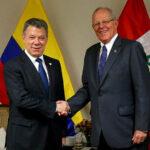 Kuczynski y Santos conversarán sobre Venezuela durante gabinete binacional