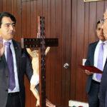 Juramenta nuevo integrante del Consejo Directivo de la Academia de la Magistratura