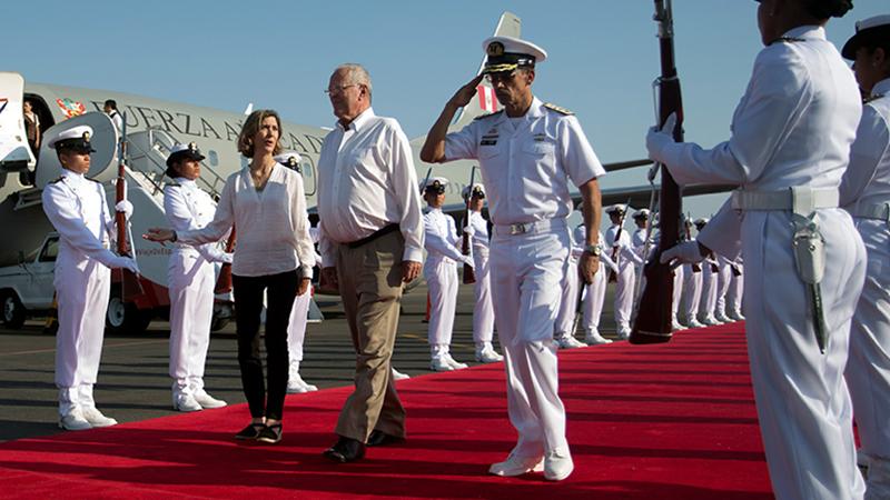 Llega a Colombia presidente peruano Kuczynski para Gabinete Binacional