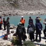 Instalan cámara en laguna de Huaraz cuyo desborde afectaría a 50.000 personas