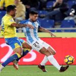 Liga Santander: Las Palmas con un gol en el minuto 90 hunde al Málaga