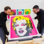 Imagen de Marilyn Monroe firmada por Andy Warhol saldrá a subasta