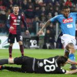 Copa Italia: El Nápoles toma la punta de la Serie A arrollando por 5-0 al Cagliari
