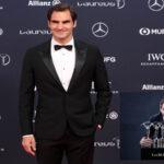 Roger Federer por 5ta vez gana el premio al Mejor Deportista del Año