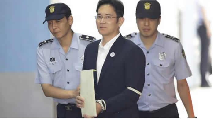 Corte de Apelación suspende sentencia contra heredero de Samsung