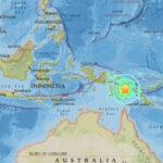 Oceanía: Terremoto de 7.5 grados de intensidad remece a Papúa Nueva Guinea