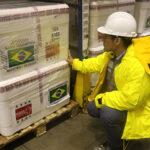 Llegó lote de 100 mil vacunas contra la varicela donadas por Brasil