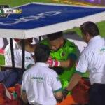 Liga MX: Pedro Gallese sufre terrible lesión y entre lágrimas abandona la cancha