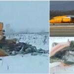 Rusia: Piloto del avión caído comunicó de una falla técnica poco antes del accidente