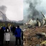 China: Prensa revela que 12 personas murieron al estrellarse avión militar