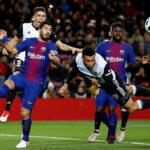 Copa del Rey: Barcelona logra una mínima ventaja 1-0 ante el Valencia