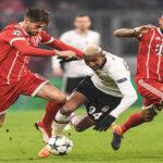 Champions League: Bayern en el partido de ida goleó por 5-0 al Basiktas