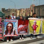 Dirincri: Familiares de personas desaparecidas protestan frente a sede policial (VIDEO)
