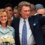 Francia: Johnny Hallyday  desheredó a hijos y dejó fortuna a su última esposa (VIDEO)
