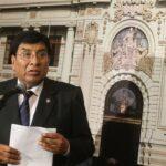 Congresista Lucio Ávila renuncia irrevocablemente a Fuerza Popular