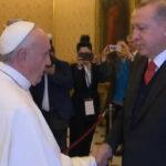 Francisco ypresidente turco Erdogan dialogaron sobre la paz y Jerusalén (VIDEO)