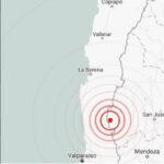 Chile: Sismo de 5.3 grados remece Coquimbo, Valparaíso y Metropolitana