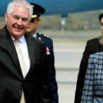 Secretario de Estado Tillerson llega a Colombia y se reúne con Santos (VIDEO)