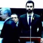"""Cúpula judicial y fiscal abandona parlamento catalán por referencia a """"presos políticos"""" (VIDEO)"""