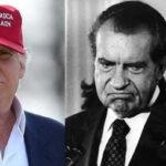 EEUU: Destacan semejanzas en escándalos de Trump con Nixon y Watergate