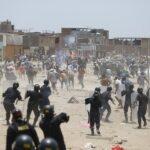 Un muerto en desalojo a presuntos invasores de terrenos (VIDEOS)
