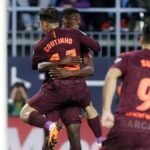 Liga Santander: Barcelona sin Lionel Messi vence 2-0 al Málaga por la fecha 28