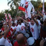 Selección peruana: Banderazo de hinchas en apoyo a la bicolor en Miami