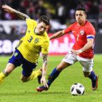 Fecha FIFA: Suecia cae 2-1 ante Chile con debut del DT Reinaldo Rueda