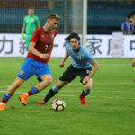 China Cup: Uruguay con goles de Suárez y Cavani gana 2-0 a Rep. Checa