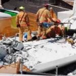 EEUU: Con maquinaria pesada, brigadistas intentan rescatar cuerpos bajo puente colapsado