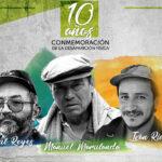 """FARC conmemorará 10 años de muerte de """"Tirofijo"""", """"Raúl Reyes"""" e """"Iván Ríos"""""""