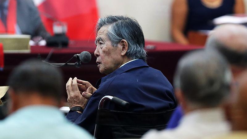 Dictan impedimento de salida del país al exdictador — Alberto Fujimori