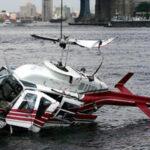 Helicóptero se estrella frente a la costa oriental de Manhattan (Video)