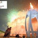 Juegos Paralímpicos: La llama paralímpica brilla en el cielo de PyeongChang