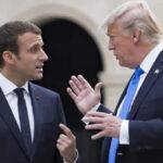 Macron alerta a Trump por teléfono: Alza de aranceles entraña riesgo de guerra comercial
