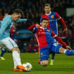 Champions League: Basilea en partido de vuelta gana 2-1 al Manchester City
