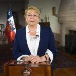 Michelle Bachelet antes de dejar la Presidencia: Hoy Chile es un mejor país