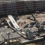 EEUU: Colapsa puente que se colocó hace 5 días dejando varios muertos y heridos (VIDEO)