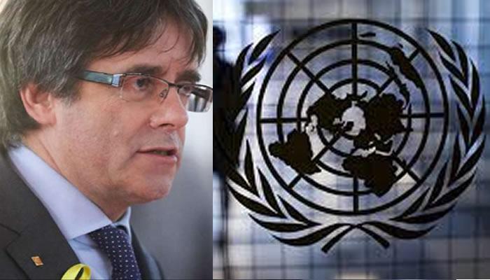 ONU acepta demanda del detenido expresidente regional catalán Carles Puigdemont