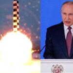 """Rusia: Putin presenta poderoso misil balístico Sarmat con """"alcance prácticamente ilimitado"""" (VIDEO)"""