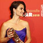 Penélope Cruz recibió el premio César de Honor del cine francés