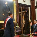 Edmer Trujillo juró en privado como ministro de Transportes