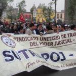 Trabajadores del PJ exigen inmediata aprobación de nueva escala remunerativa