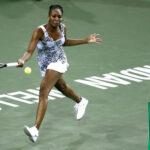 Indian Wells:Venus Williams se impone en octavos a su hermana Serena