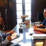 Presidente Martín Vizcarra sostuvo reunión con César Villanueva