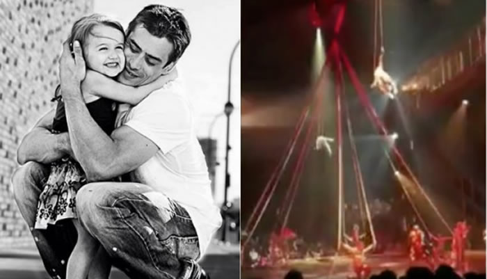 Acróbata del Cirque du Soleil muere al caer en pleno show