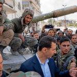 Siria: Presidente Bashar Assad recorre las zonas reconquistadas en Guta Oriental (VIDEO)